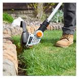 (LT24) 20V Max. Cordless Grass Trimmer Features a 180° adjustable trimmer head, 25cm cutting ...