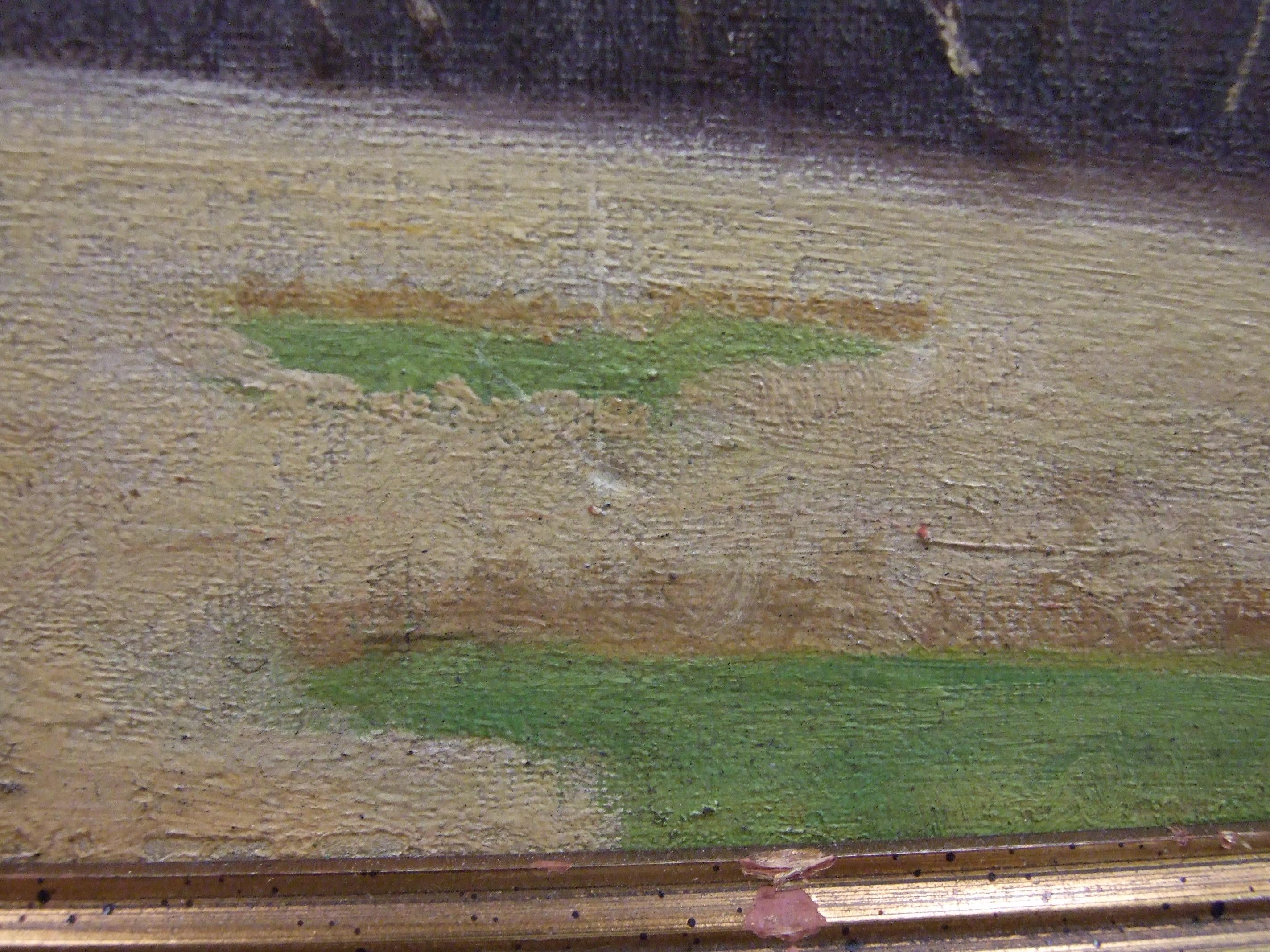 •Robert Morson Hughes (1873-1953) CORNISH LANDSCAPE Oil on canvas, signed, 50 x 60cm. - Image 6 of 6