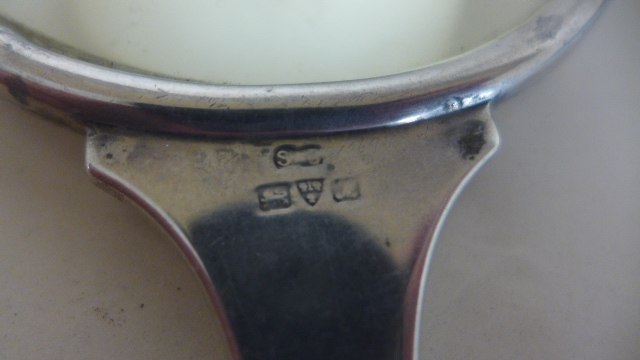 Lot 642A - A silver magnifier, Chester 1911,