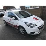 Vauxhall Corsa 1.3 CDTi Van, registration no. WD18