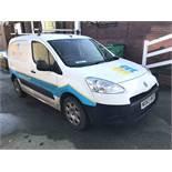 Peugeot Partner L1 850 S 1.6 HDi 92 Van, registrat