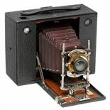 No. 4 Cartridge Kodak, 1897Eastman Kodak, Rochester, Model E, for 4 x 5 in. images on rollfilm