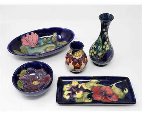 Marks guides moorcroft Pansy pattern