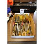 LOT - SCREWDRIVERS, (LUNCHROOM)