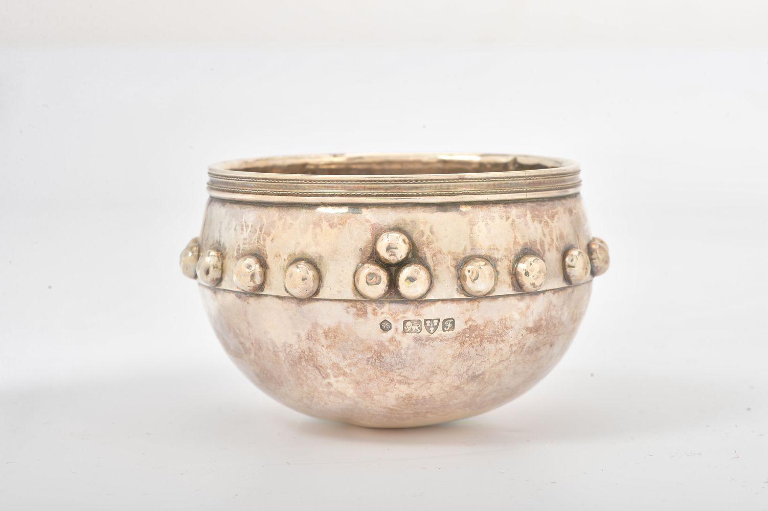 A silver replica of the Glastonbury Bowl