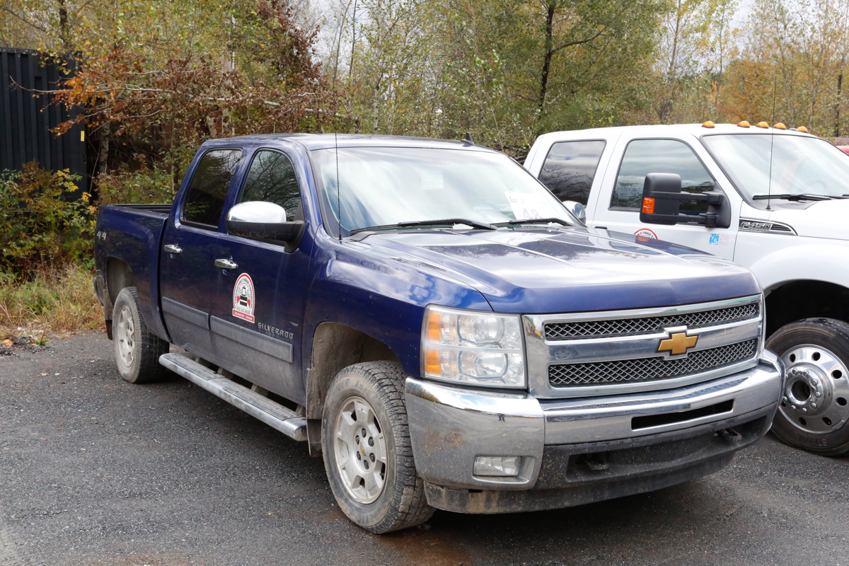 "Lot 48 - CAMIONNETTE ""PICK-UP"" CHEVROLET SILVERADO 1500 LT, 4 X 4, MOTEUR 5.3 LITRES A ESSENCE, 150 900 KM,"