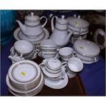 "A Noritake ""Katrina"" pattern porcelain combination service"