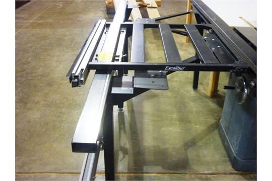 Excalibur Sliding Table Attachment
