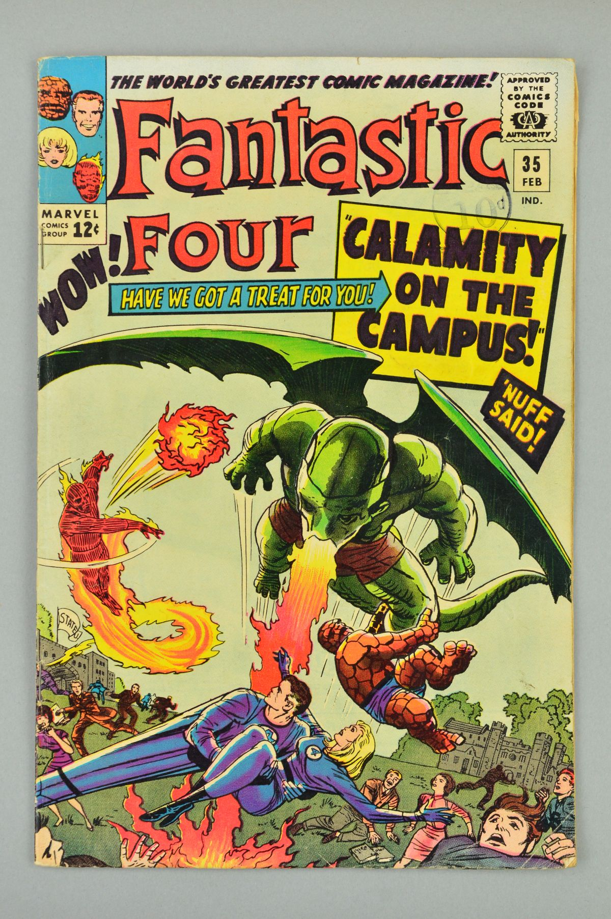 Lot 1834 - Fantastic Four (1961) #35, Published:February 10, 1965,Writer:Stan Lee, Penciller:Jack Kirby,