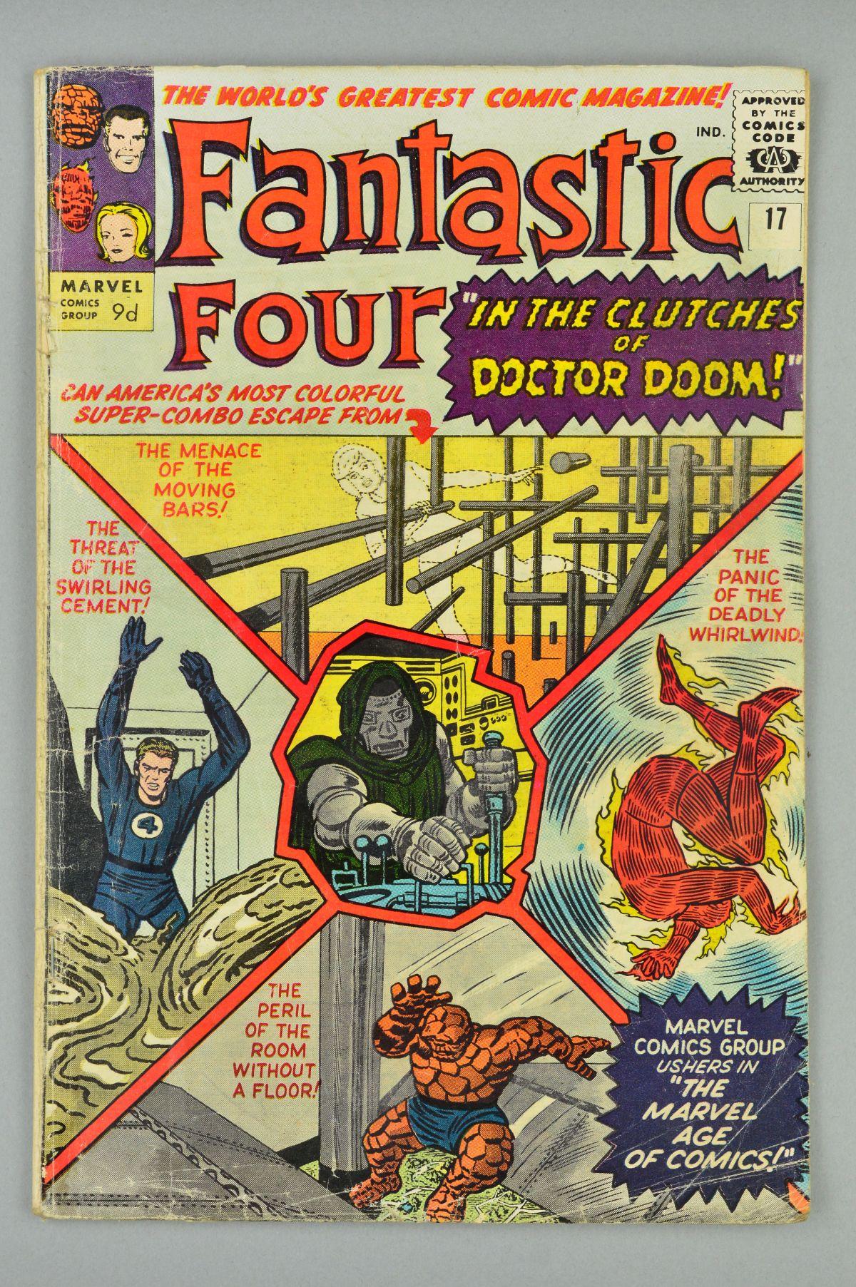 Lot 1817 - Fantastic Four (1961) #17, Published:August 10, 1963