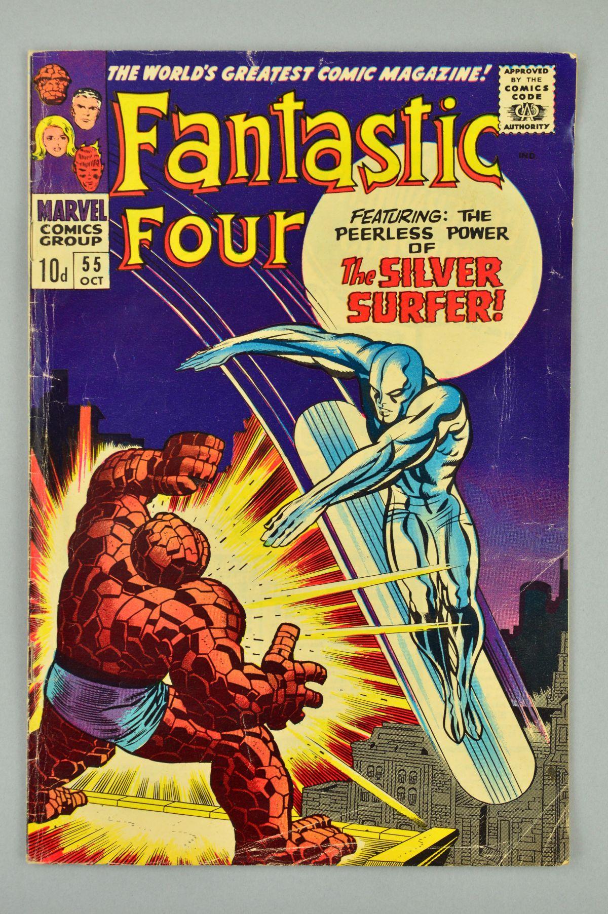 Lot 1850 - Fantastic Four (1961) #55, Published:October 10, 1966