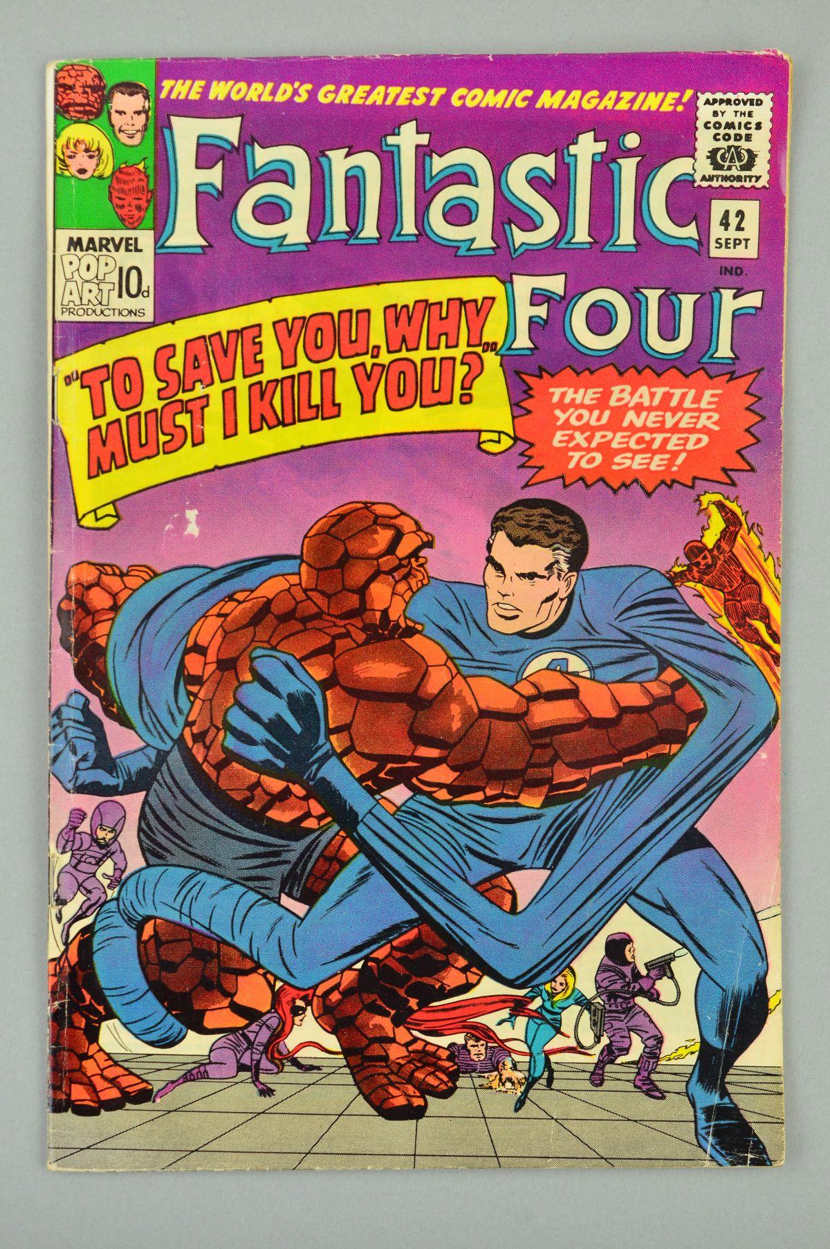 Lot 1841 - Fantastic Four (1961) #42, Published:September 10, 1965