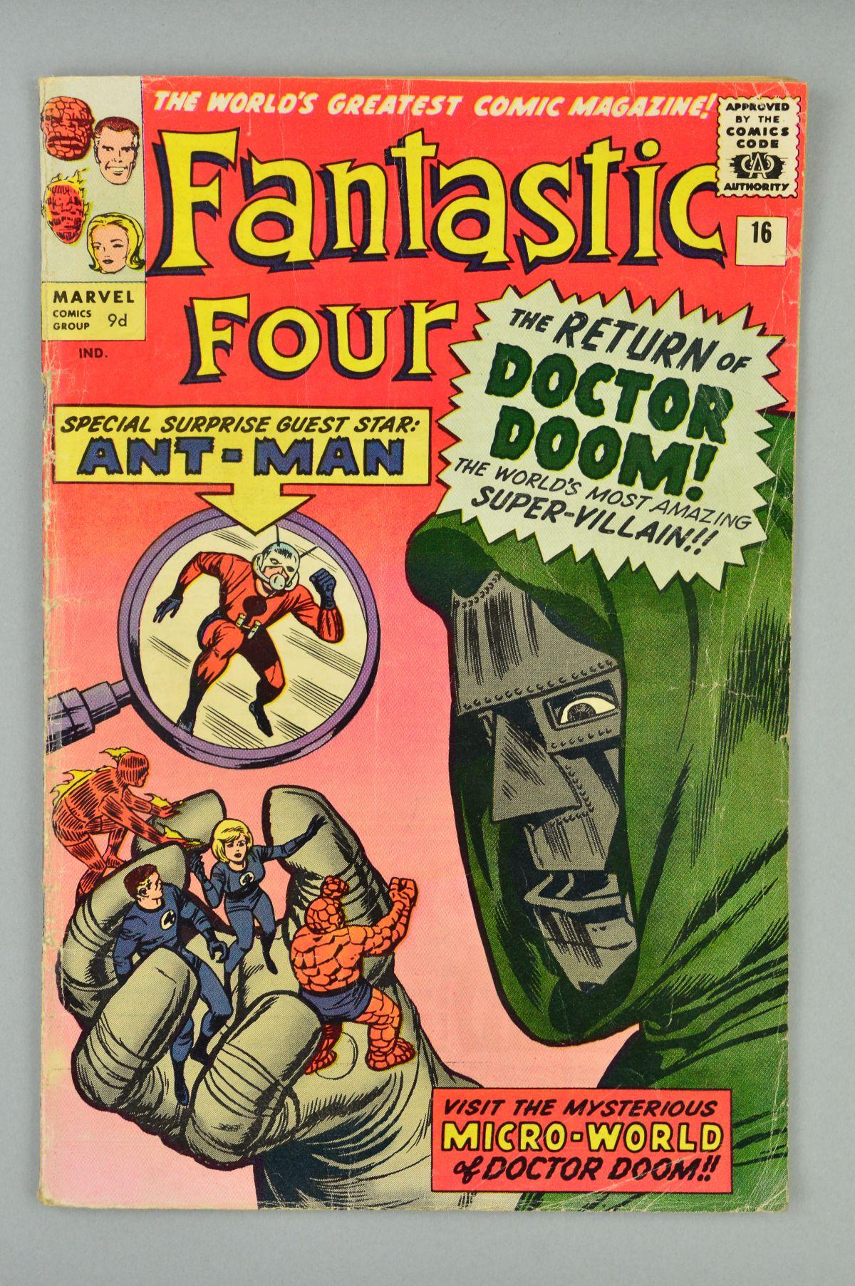 Lot 1816 - Fantastic Four (1961) #16, Published:July 10, 1963