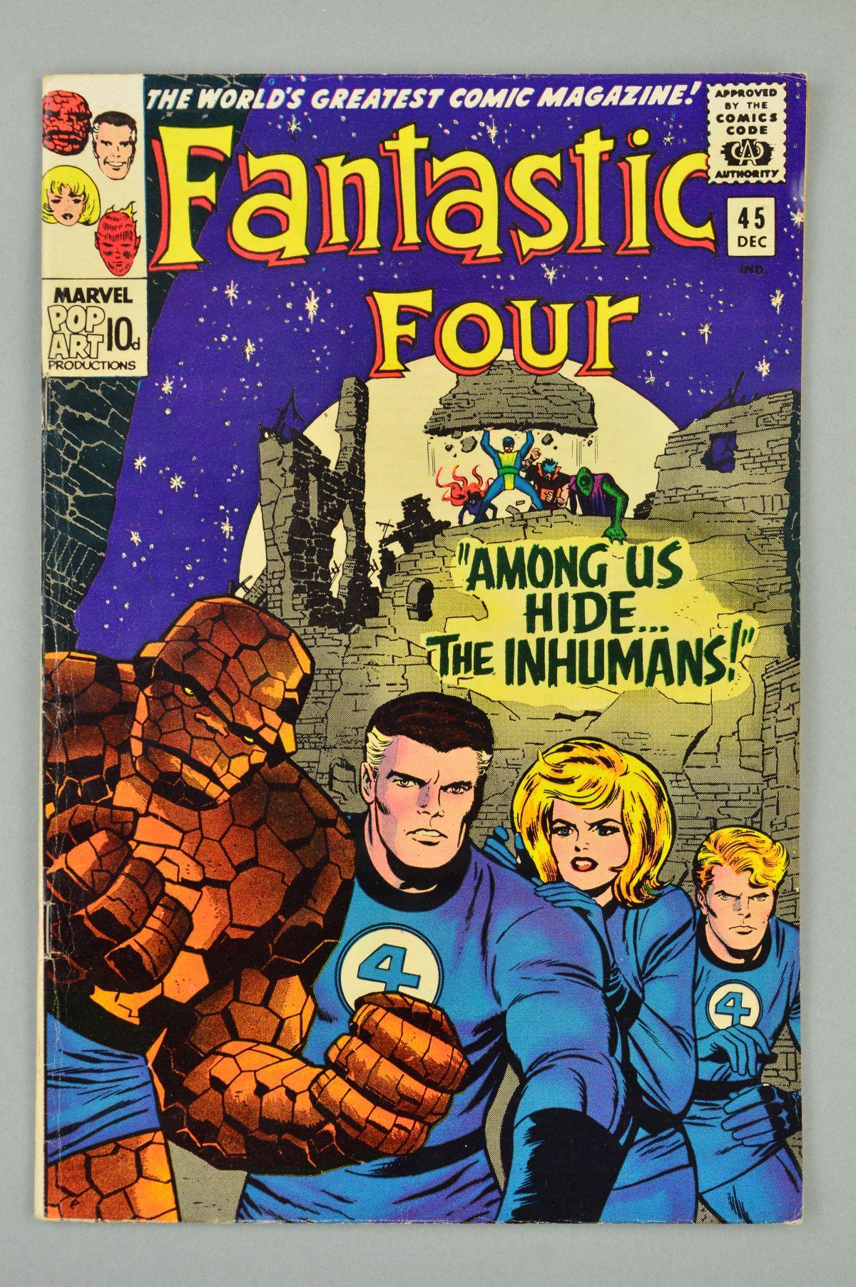 Lot 1844 - Fantastic Four (1961) #45, Published:December 10, 1965