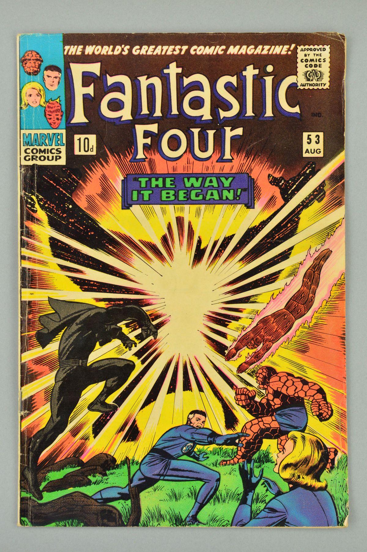 Lot 1848 - Fantastic Four (1961) #53, Published:August 10, 1966