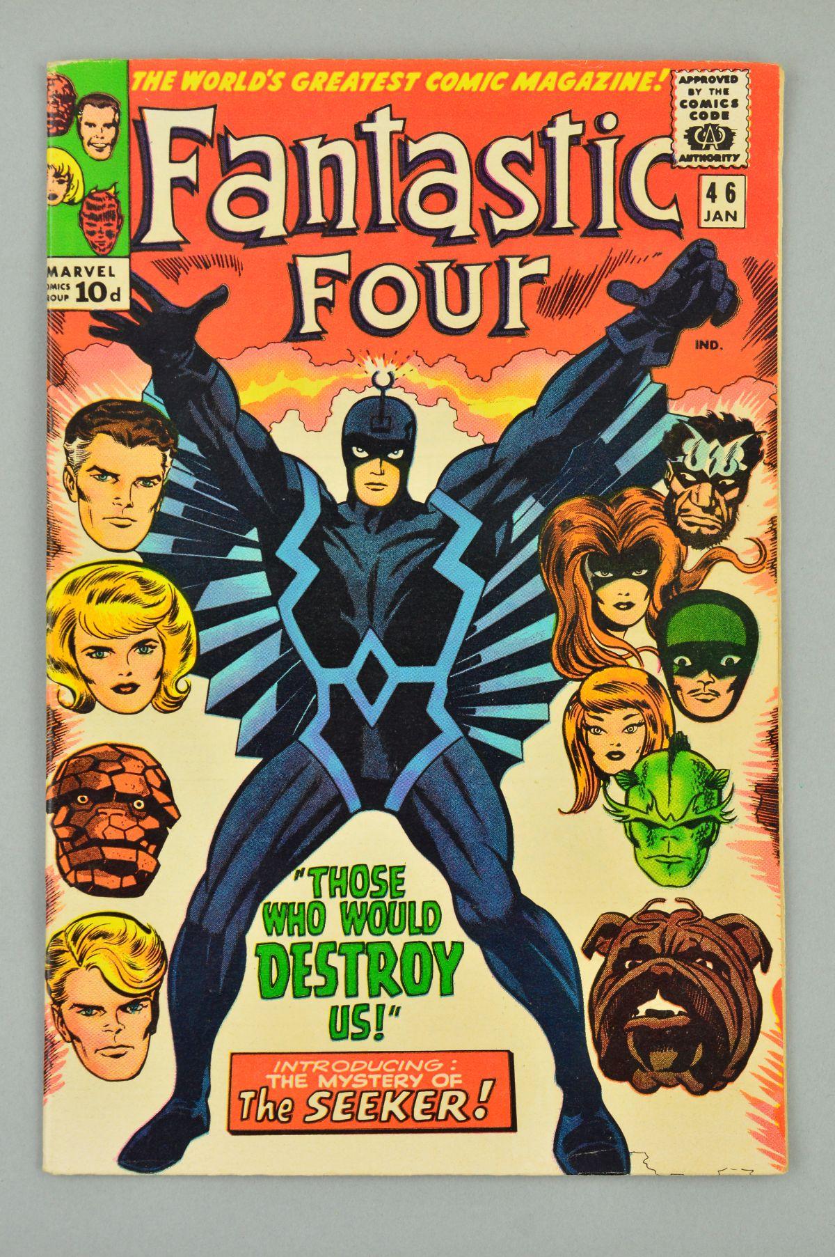 Lot 1845 - Fantastic Four (1961) #46, Published:January 10, 1966
