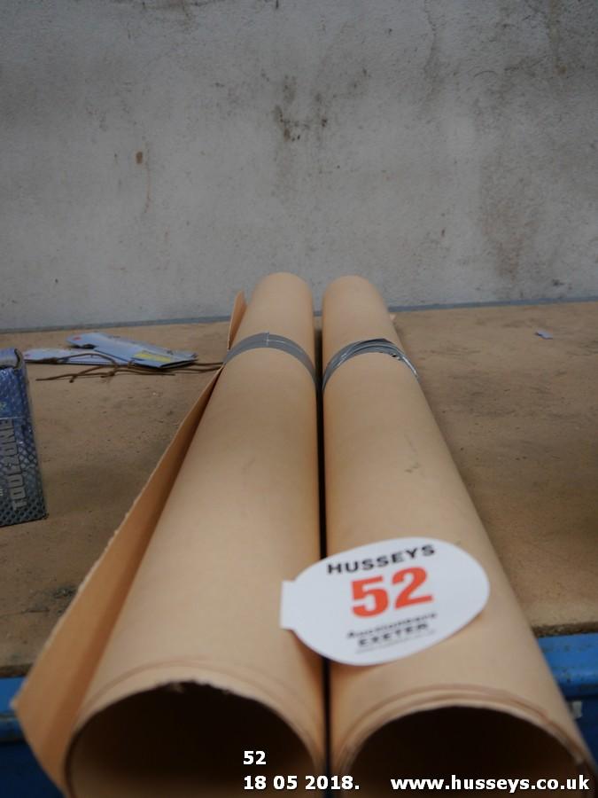 Lot 52 - GASKET PAPER