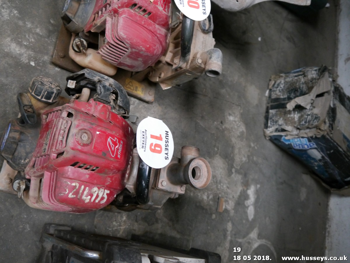 Lot 19 - HONDA WATER PUMP