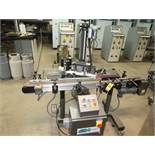 CTM MDL. 3600-PA PRINTER APPLICATOR LABELING SYSTEM & CONVEYOR