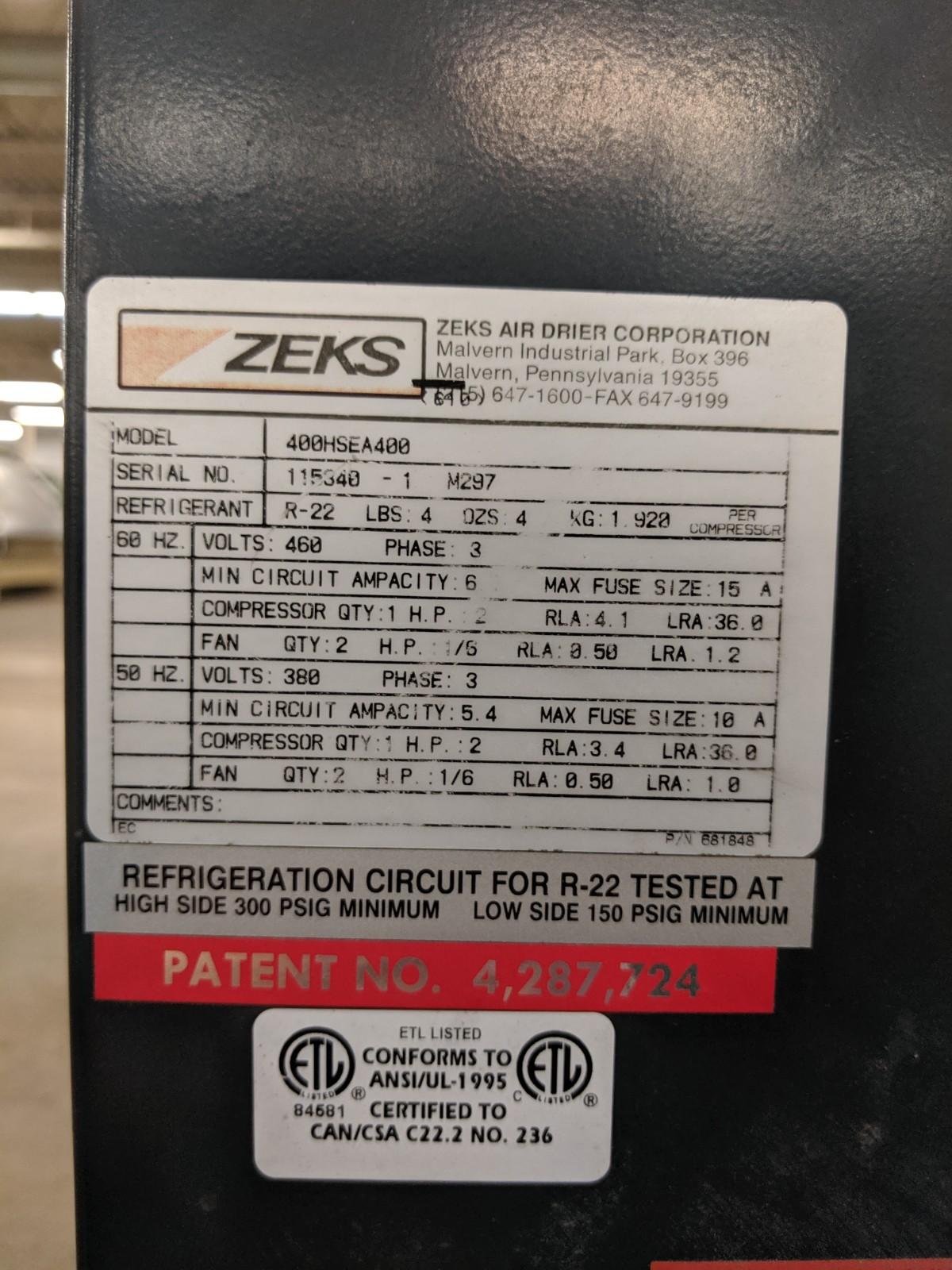Lot 234 - Zeks HeatSeek