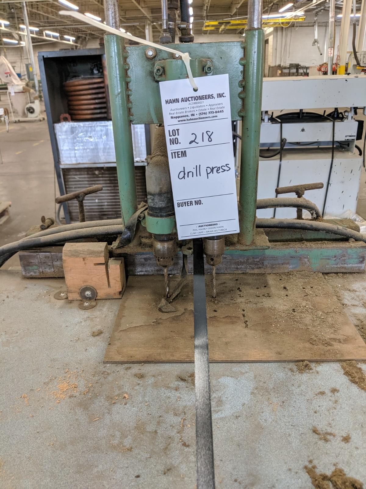Lot 218 - Pneumatic Drill Press