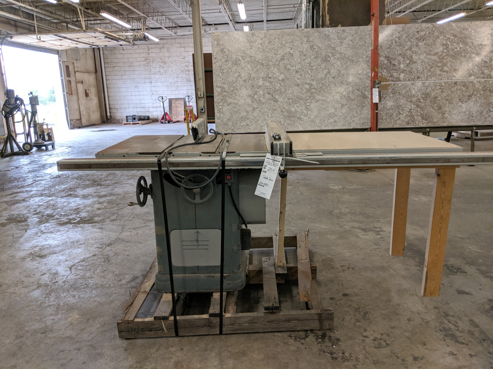 Lot 254 - Rockwell Table Saw