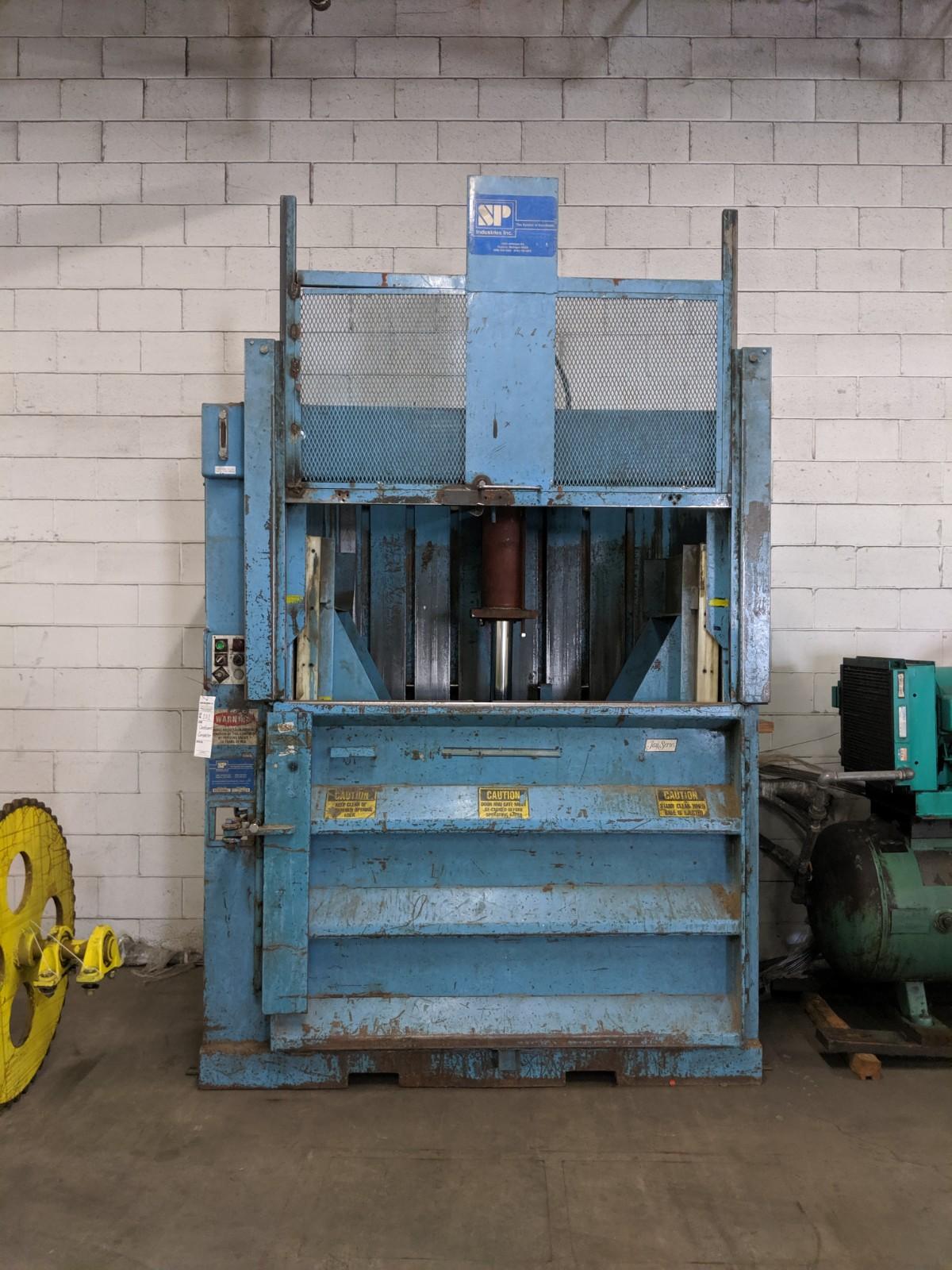Lot 202 - SP Industries Cardboard Baler