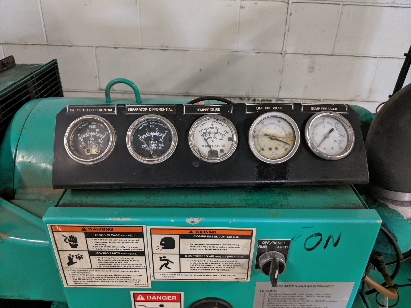 Lot 203 - Palatek Rotary Screw Air Compressor