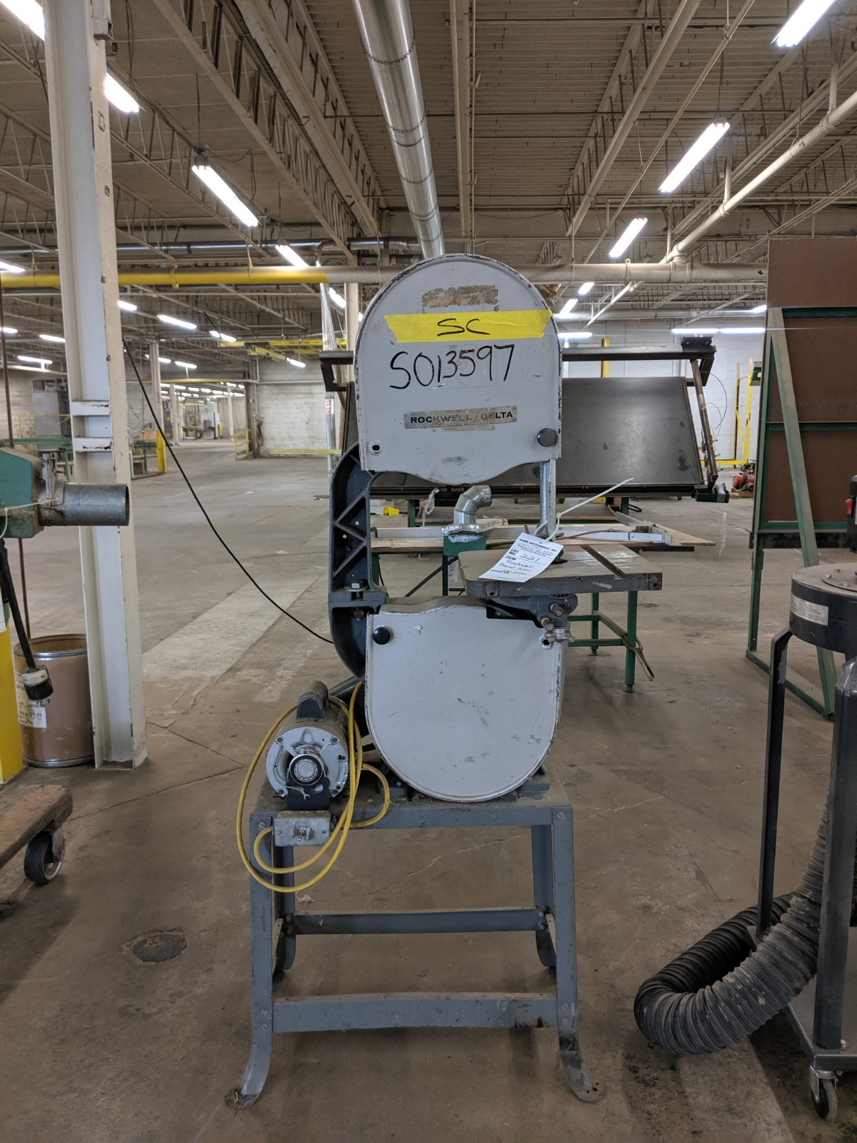 Lot 221 - Rockwell Delta Band Saw