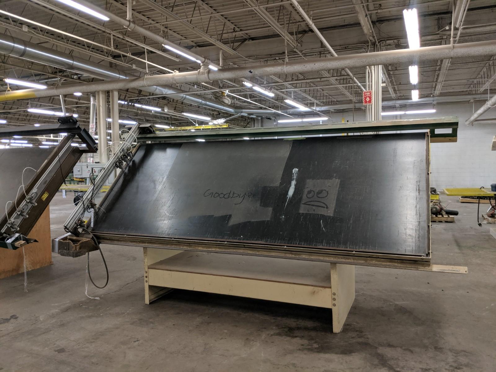 Ritter Framing Table