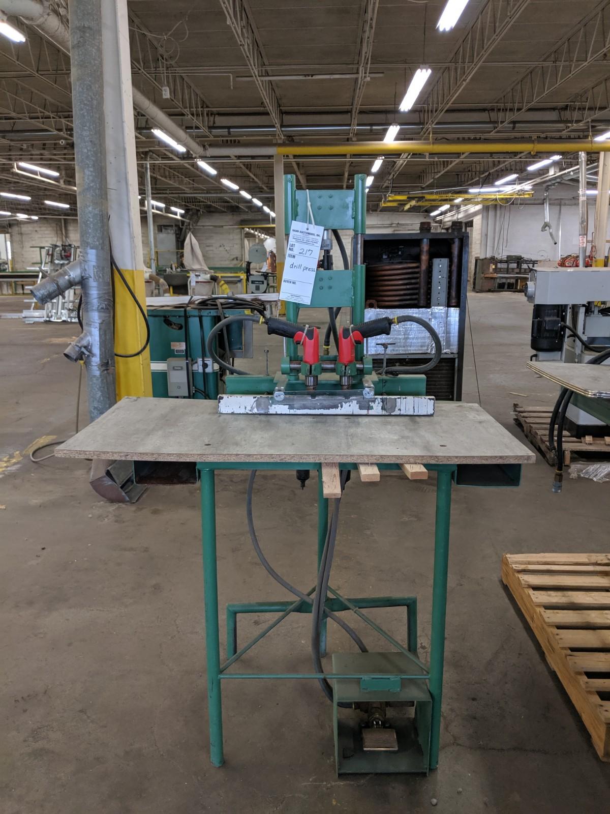 Lot 217 - Pneumatic Drill Press