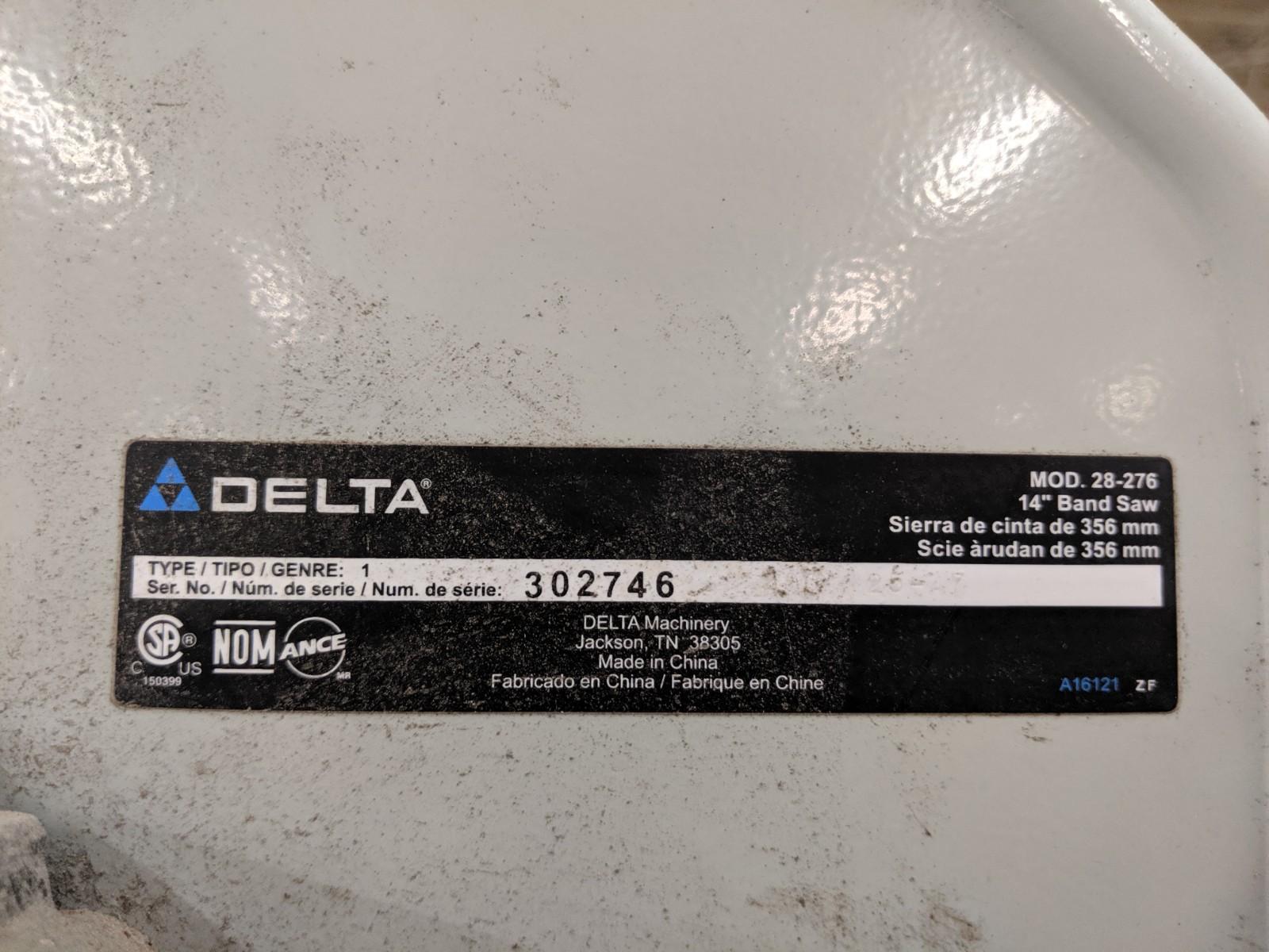 Lot 247 - Delta Band Saw