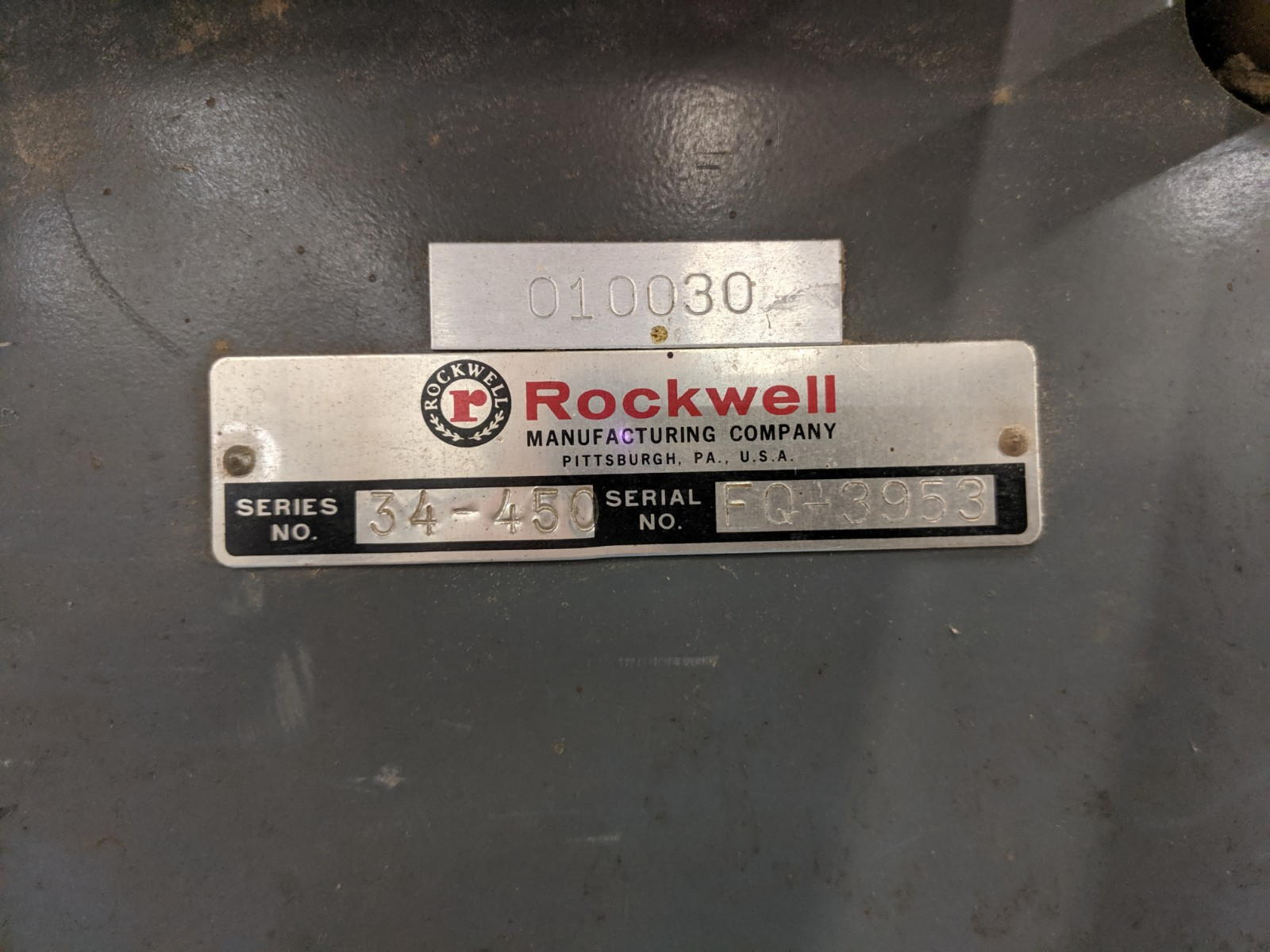 Lot 253 - Rockwell Unisaw