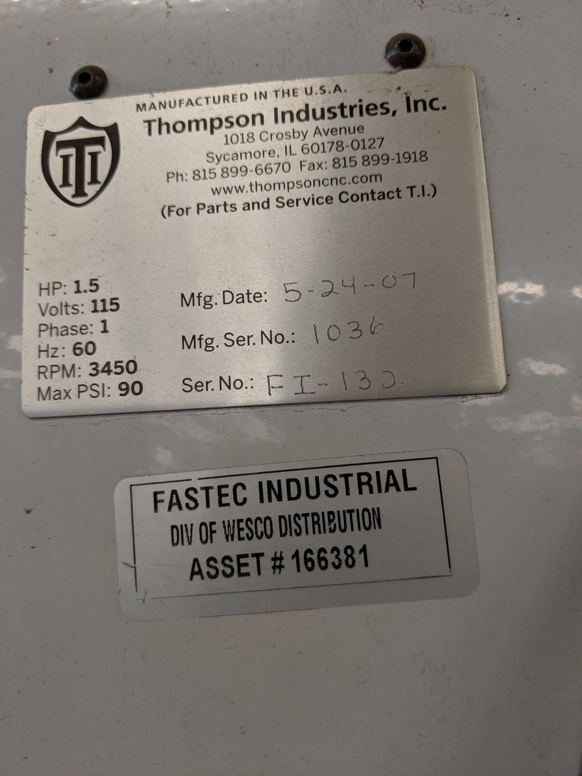 Lot 242 - Thompson Pocket Drill