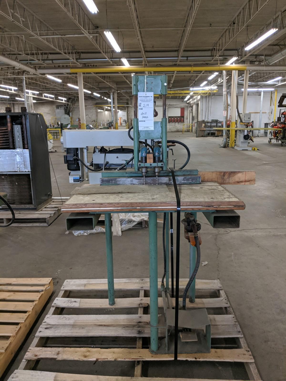 Lot 219 - Pneumatic Drill Press