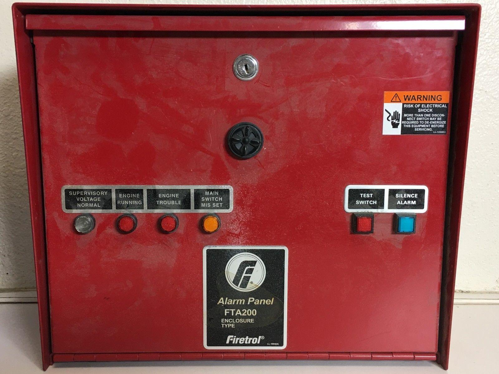 Lot 7A - FIRETROL ALARM PANEL FTA200 ENCLOSURE TYPE