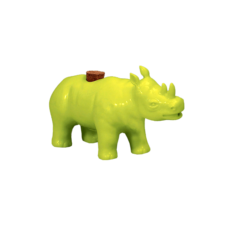 Lot 47 - 24 X imm living Watering Hole Cruet - Rhinoceros Designed By Michael Revil Madjus