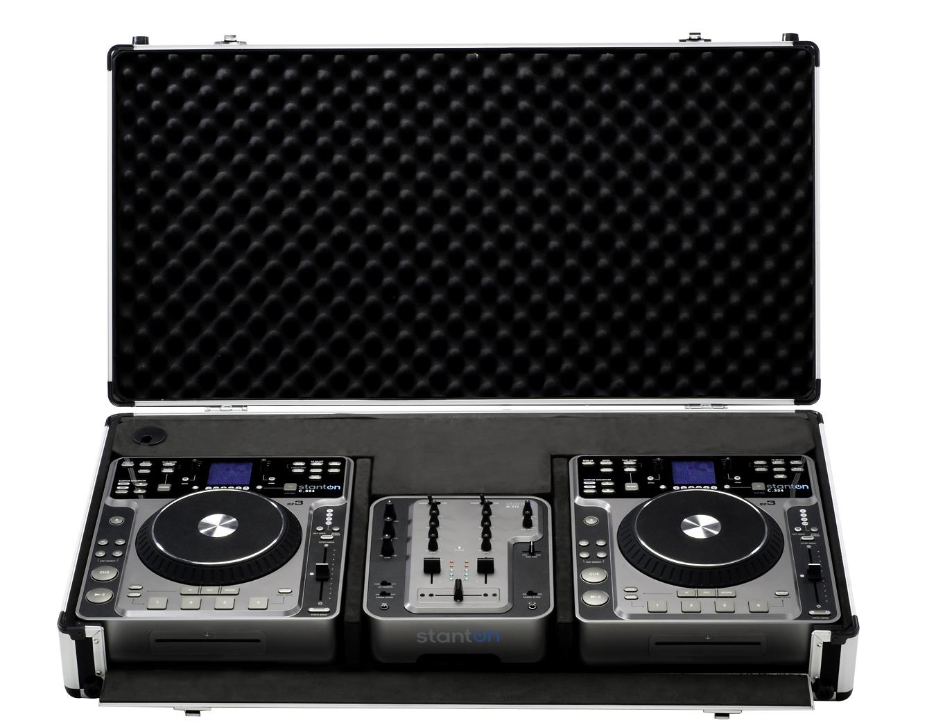 Lot 10 - 1 X STANTON DIGIPAK PRO.V4 DJ TURNTABLE AUDIO PORTABLE SYSTEMS