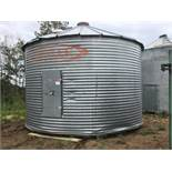 +/- 2400bu Butler 18Ft x 3-Ring Grain Bin