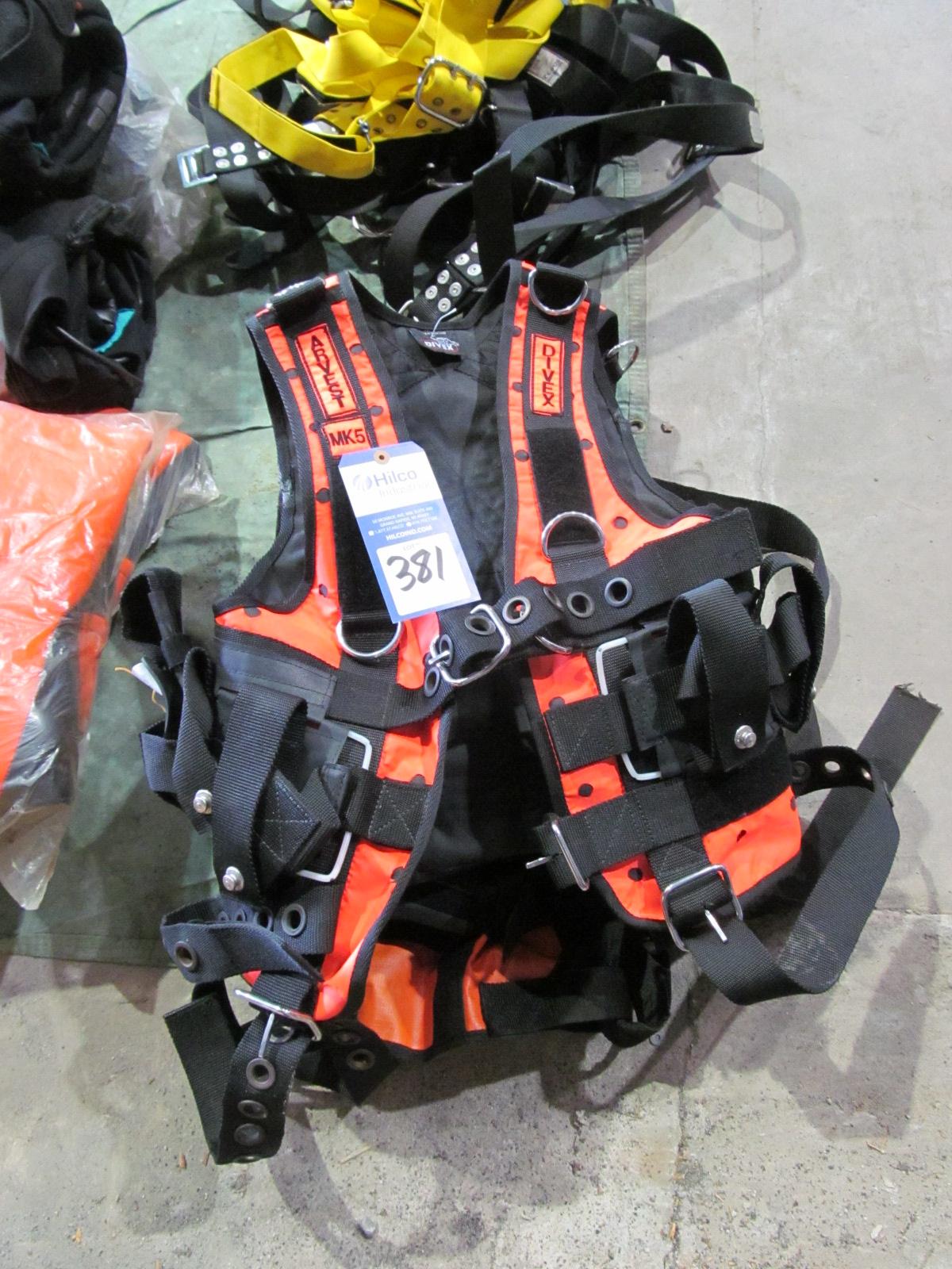 Divex Model Arvest MK5 Diving Harnesses