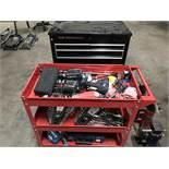 {LOT} 2 Tool Carts w/Tools