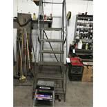 Rolling Ladder & 3' Step Ladder
