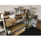 {LOT} In Store Room c/o: Commissary Items, Shelving, Etc.
