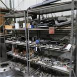 (2) Sections Metal Shelving (NO CONTENTS)