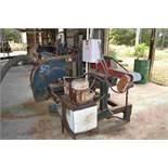 MORGAN 2 HEAD BAND RESAW W/ 15 HP MOTOR W/ 5 HP HYDRAULIC POWER PACK