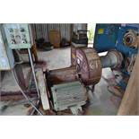 """CORNELL 24"""" SUCTION BLOWER W/ 20HP MOTOR W/ APPROX 40' OF OUTGOING PIPE LOCATED SITE 1"""