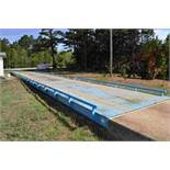 WEIGH TRONIX 120,000 LB 11'X70' STEEL ABOVE GROUND SCALE W/ PRINT OUT SN#6879 LOCATED SITE 1