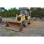 CAT 416C 4X4 BACK HOE W/ FRONT END LOADER W/ BUCKET HOUR METER DOES NOT WORK SN#5YNO5624