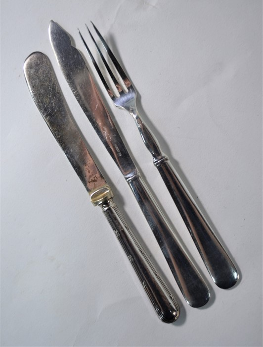 Sampson Mordan silver decanter labels, etc. - Image 4 of 6