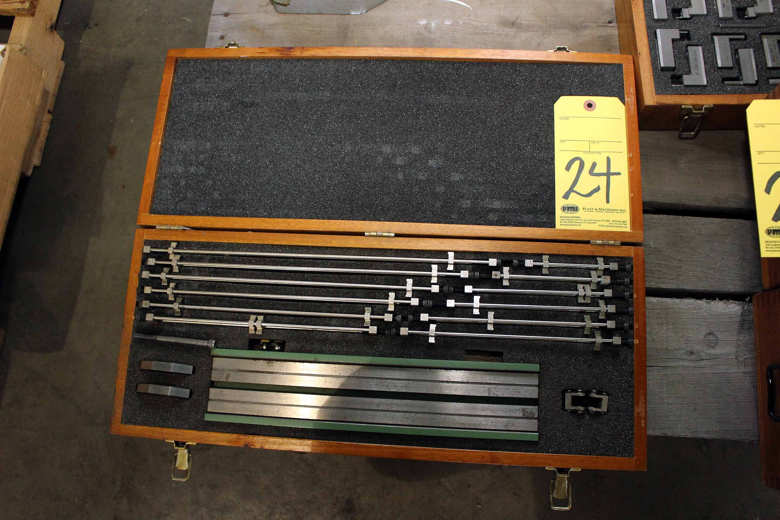 Lot 24 - LOT OF PRECISION FIXTURE PLATES